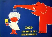 """1953 - Berlingot DOP dessiné par Vasarely, fet réalisé en 1952 par Roland de la Poype… Conçus à l'origine pour servir d'échantillons, ces berlingots permirent à l'Oréal de vendre le shampooing en doses individuelles et seront fabriqués pendant plus de 25 ans. NB/ """"C'est aux Anglais que nous devons l'usage du shampooing. Ils introduisirent la mode à Paris à la fin du XIXe siècle. Néanmoins, il faudra attendre plusieurs décennies avant que l'usage du shampooing ne se généralise à l'ensemble de la population. Dans les années trente, trois Français sur dix déclarent ne se laver les cheveux qu'une fois par an."""""""