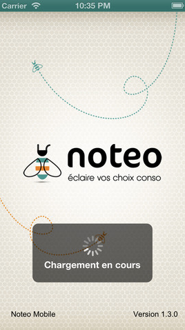 notéo application iphone