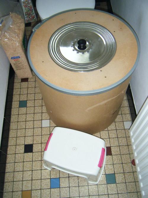 My fabulous toilette sèche