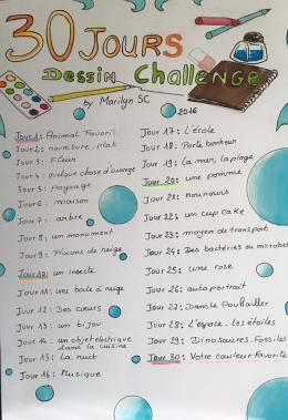 dessin challenge