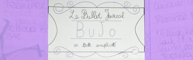 bannière bujo