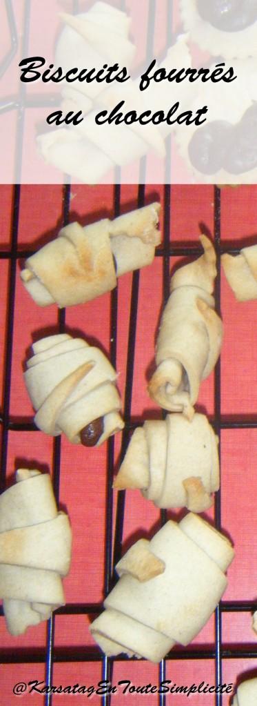 biscuits fourrés choco