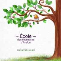 Logo ecole des 5 deesses avalon