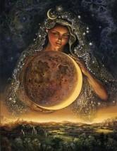 Unicite deesse mere lune