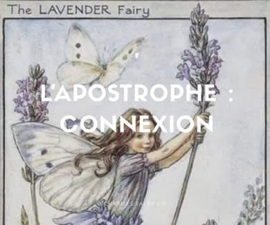Apostrophe charmes faery